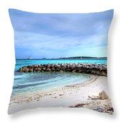Coco Cay Throw Pillow