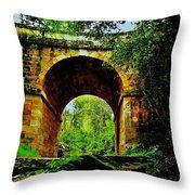 Colonial Era Bridge Throw Pillow