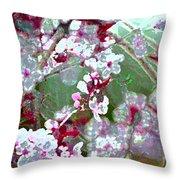 Color 59 Throw Pillow