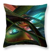 Colorfast Picasso Fx  Throw Pillow