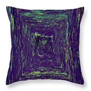 Coloristic Abstracts From Varikallio At Hossa Throw Pillow