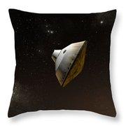Concept Of Nasas Mars Science Throw Pillow