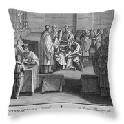 Confirmation, 18th Century Throw Pillow