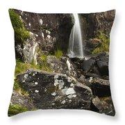 Connor Pass, Dingle Peninsula, County Throw Pillow