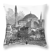 Constantinople: St. Sophia Throw Pillow by Granger