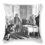 Continental Congress, 1774 Throw Pillow