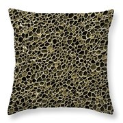 Cork Wood, Sem Throw Pillow