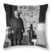 Count Keyserling (1880-1946) Throw Pillow