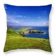Crookhaven, Co Cork, Ireland Most Throw Pillow