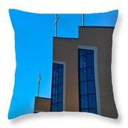 Crosses Of Livingway Church Throw Pillow