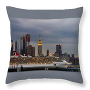 Cruisin By The City Throw Pillow