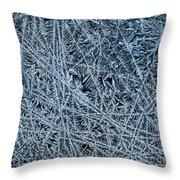 Crystals 1 Throw Pillow