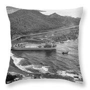 Cuban Missile Crisis, 1962 Throw Pillow