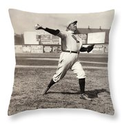 Cy Young (1867-1955) Throw Pillow