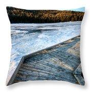Cypress Hills Alberta Throw Pillow