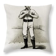 Dan Casey (1862-1943) Throw Pillow