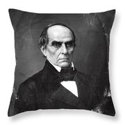 Daniel Webster Throw Pillow by Photo Researchers