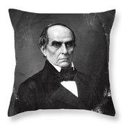 Daniel Webster Throw Pillow