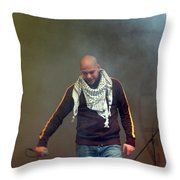 Danny Fresh Throw Pillow
