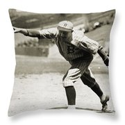 Dazzy Vance (1891-1961) Throw Pillow