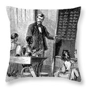 Deaf And Dumb School Throw Pillow