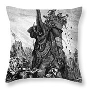 Death Of Eleazar Throw Pillow