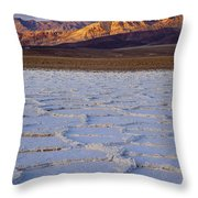 Death Valley Throw Pillow