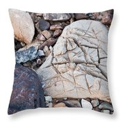 Death Valley Rock Throw Pillow