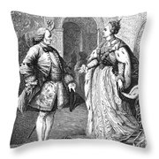 Denis Diderot (1713-1784) Throw Pillow