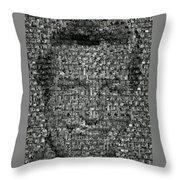 Dick Van Dyke Mosaic Throw Pillow