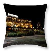 Dickens Inn Pub St Katherines Dock London Throw Pillow
