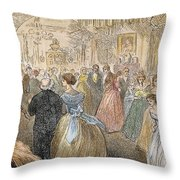 Dickens: Our Mutual Friend Throw Pillow by Granger