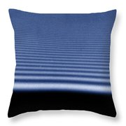 Diffraction Of Laser Beam Throw Pillow