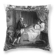 Dining, 19th Century Throw Pillow