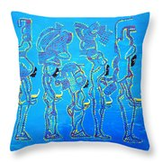 Dinka Wise Virgins  Throw Pillow