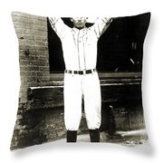 Dizzy Dean (1911-1974) Throw Pillow