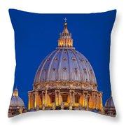 Dome San Pietro Throw Pillow