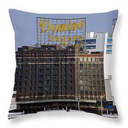Domino Sugars Throw Pillow