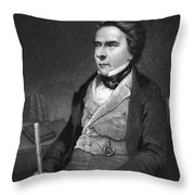 Douglas William Jerrold Throw Pillow