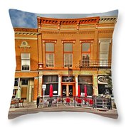Downtown Perrysburg Throw Pillow