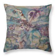 Dragonfly Dreaming Throw Pillow