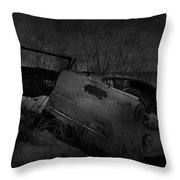 Driven On Empty  Throw Pillow