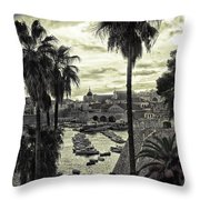 Dubrovnik View 7 Throw Pillow