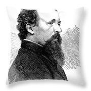 Eastman Johnson (1824-1906) Throw Pillow