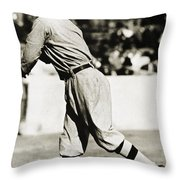 Eddie Plank (1875-1926) Throw Pillow