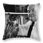 Edmund Wilson (1895-1972) Throw Pillow