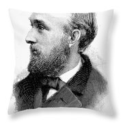 Edward Charles Pickering Throw Pillow