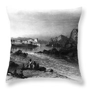 Egypt: Island Of Philae Throw Pillow