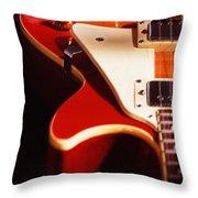 Electric Guitar I Throw Pillow