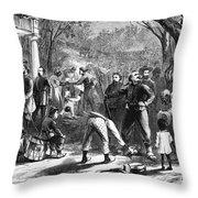 Emancipation, 1863 Throw Pillow